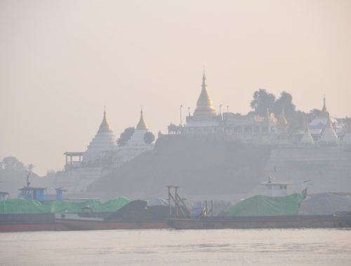 View from Irrawaddy River