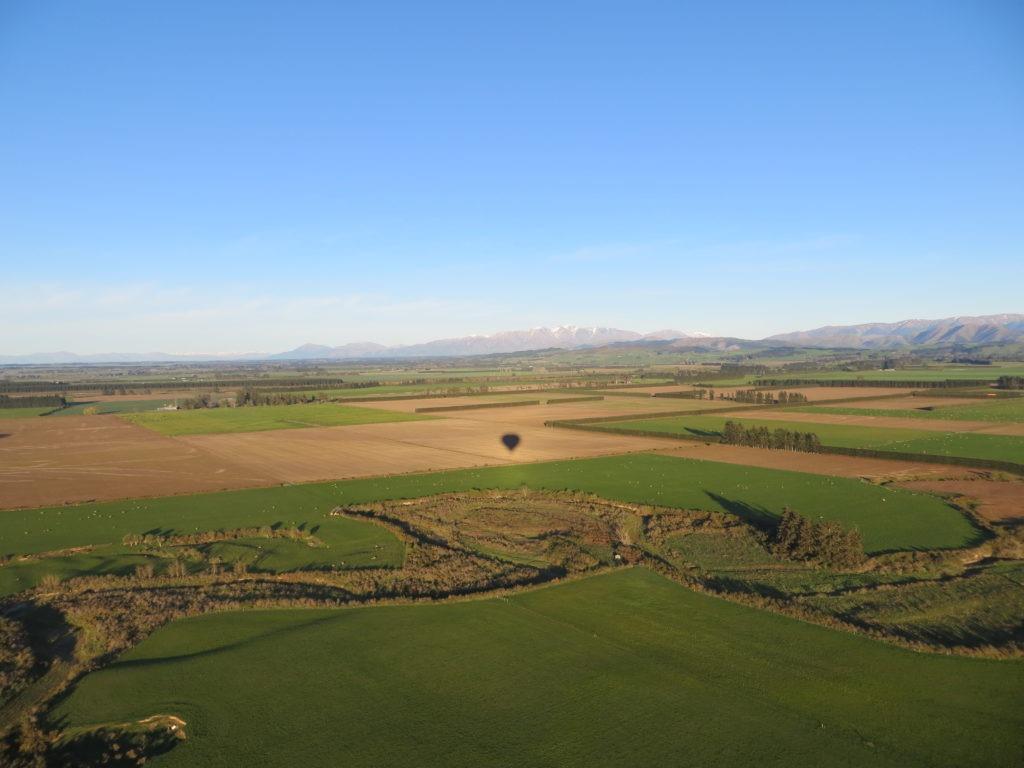 New Zealand farm lands