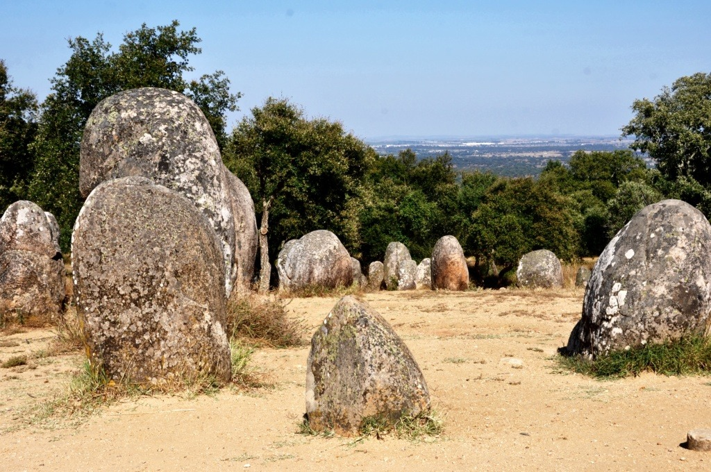 Almendres Cromlech Portugal