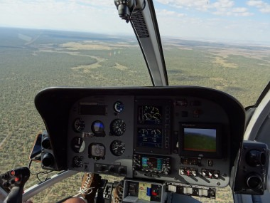 Helicopter dashboard