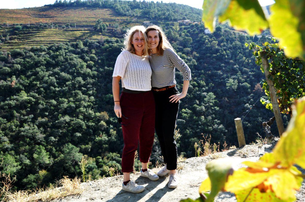 Sanne & Evelien in Douro Valley