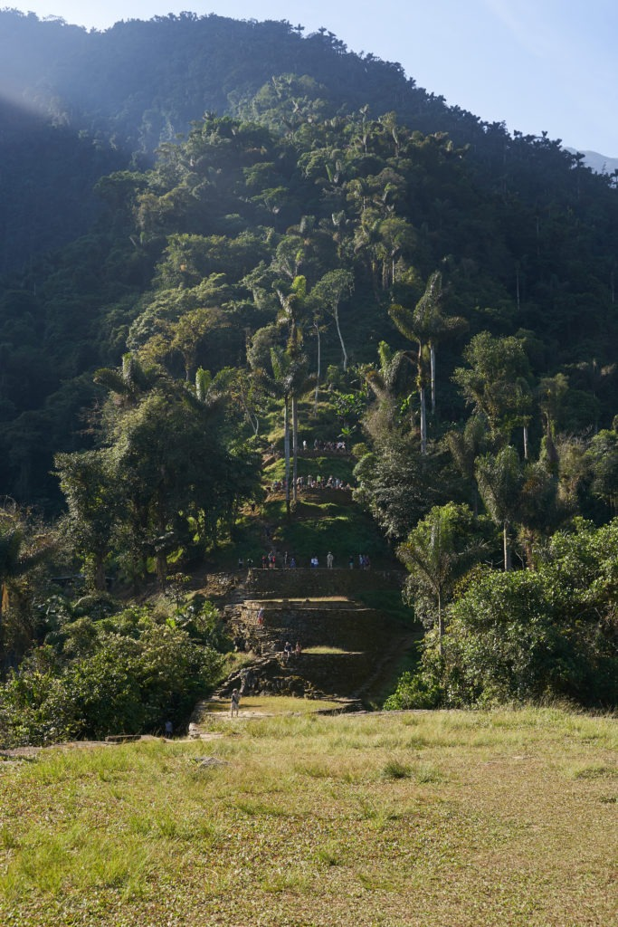 The terraces of the Lost City