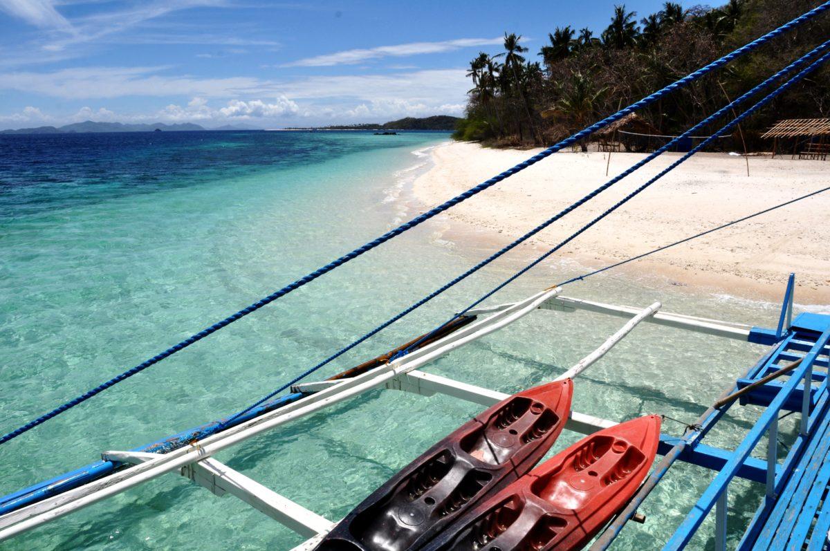 Palawan Islands boat tour