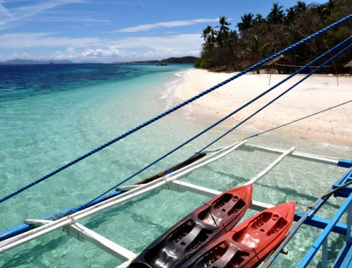 Palawan Islands boat tour