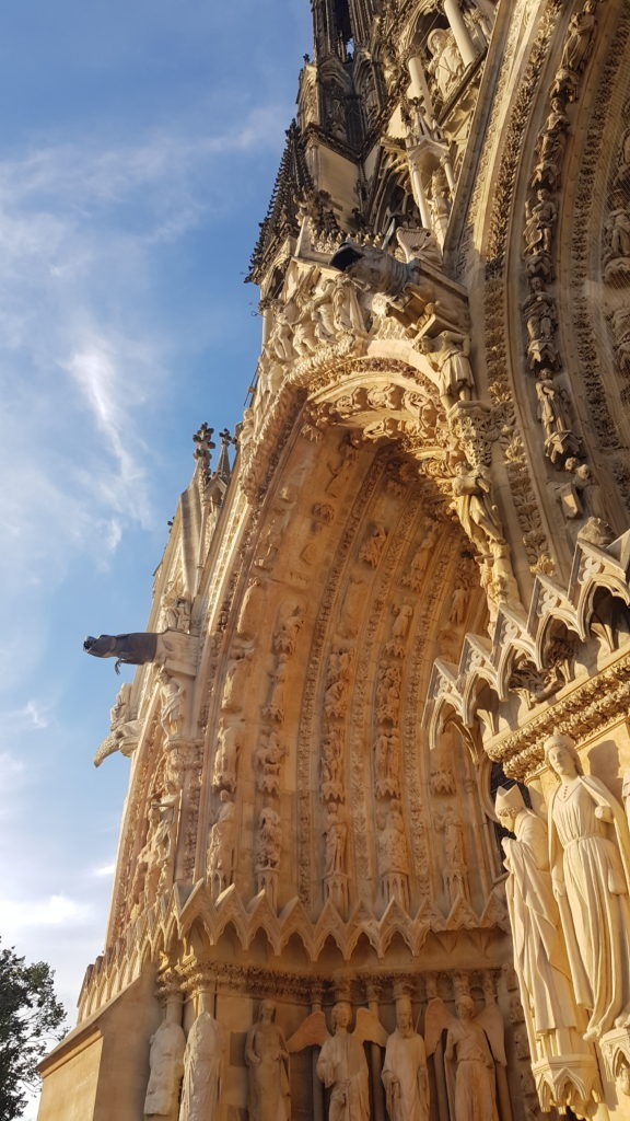 Reims Cathedral Detail