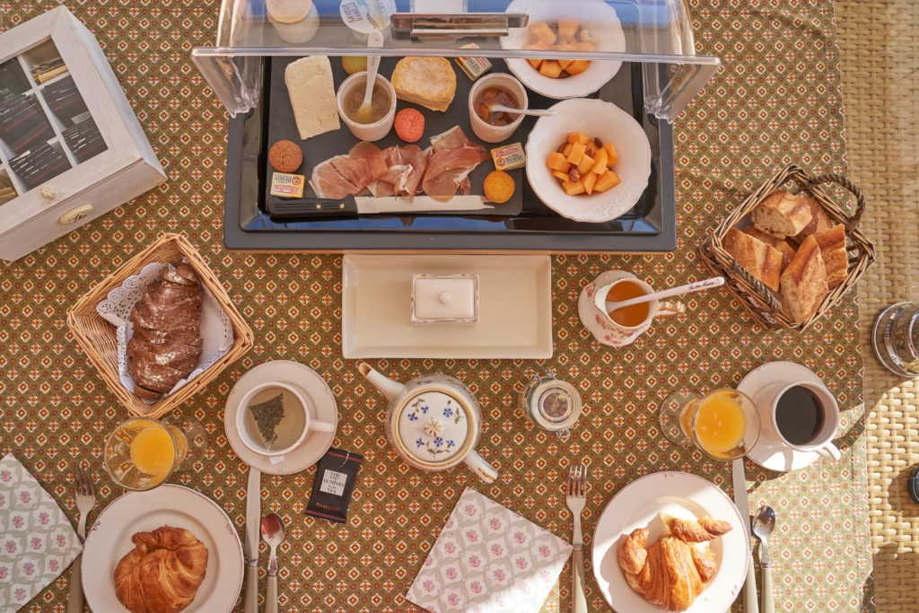 The perfect French breakfast