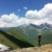 Chauki Pass at Juta Valley, Georgia