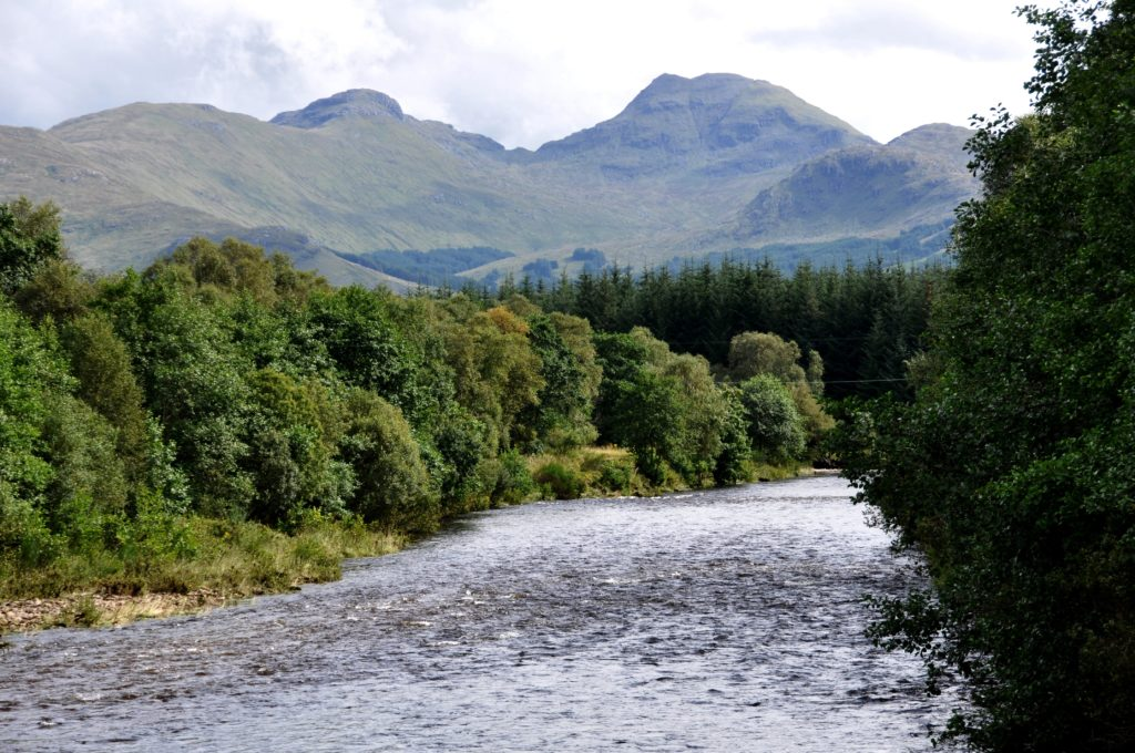 Trail to Tyndrum on the West Highland Way