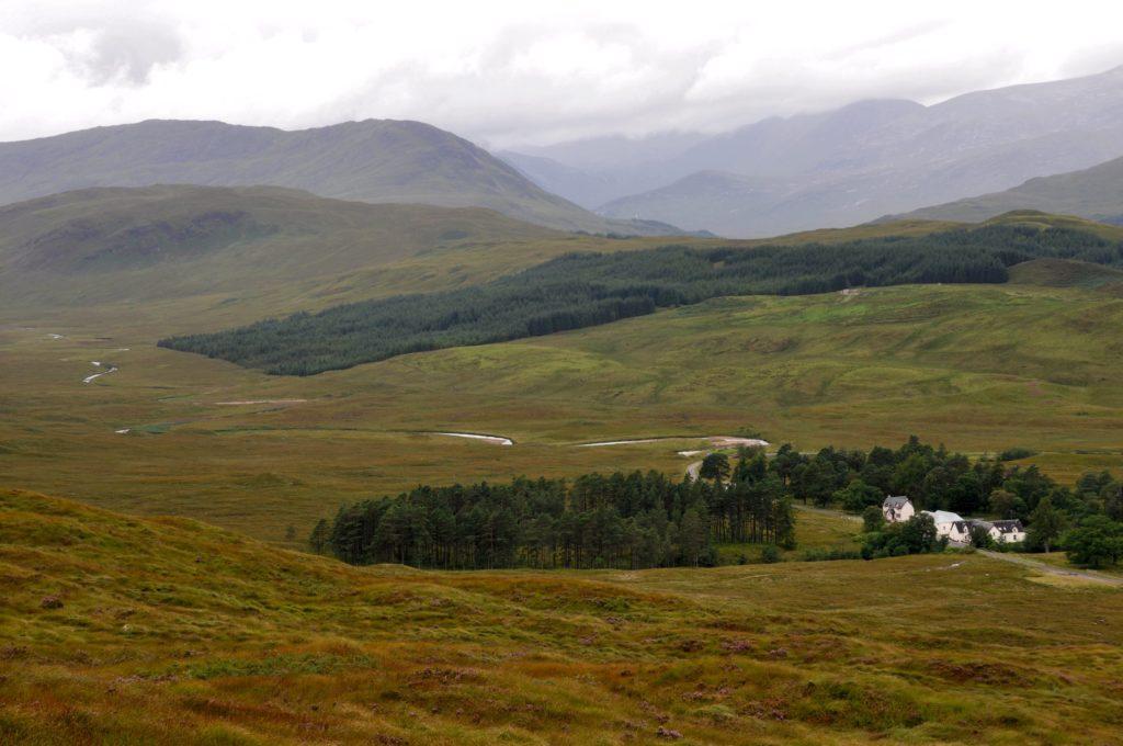 View on Inveroran Hotel