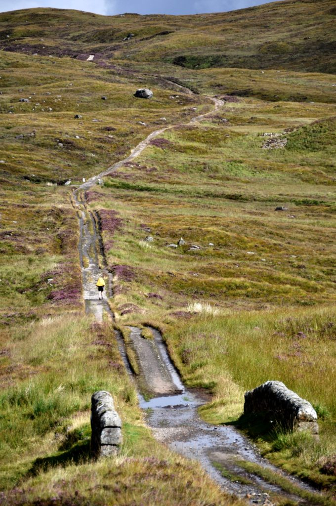 Hiking on Rannoch Moor