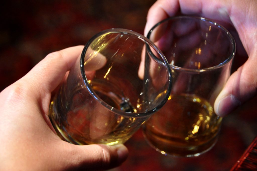 Cheers! A whiskey to celebrate finishing the West Highland Way