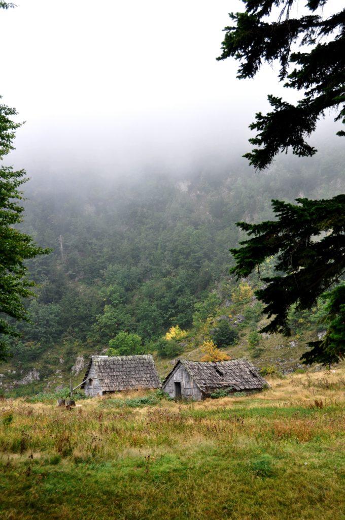 Durmitor mountain houses