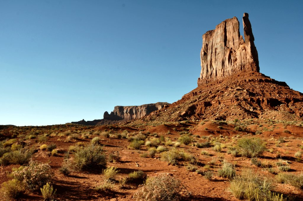 Walking the Wildcat Trail in Monument Valley