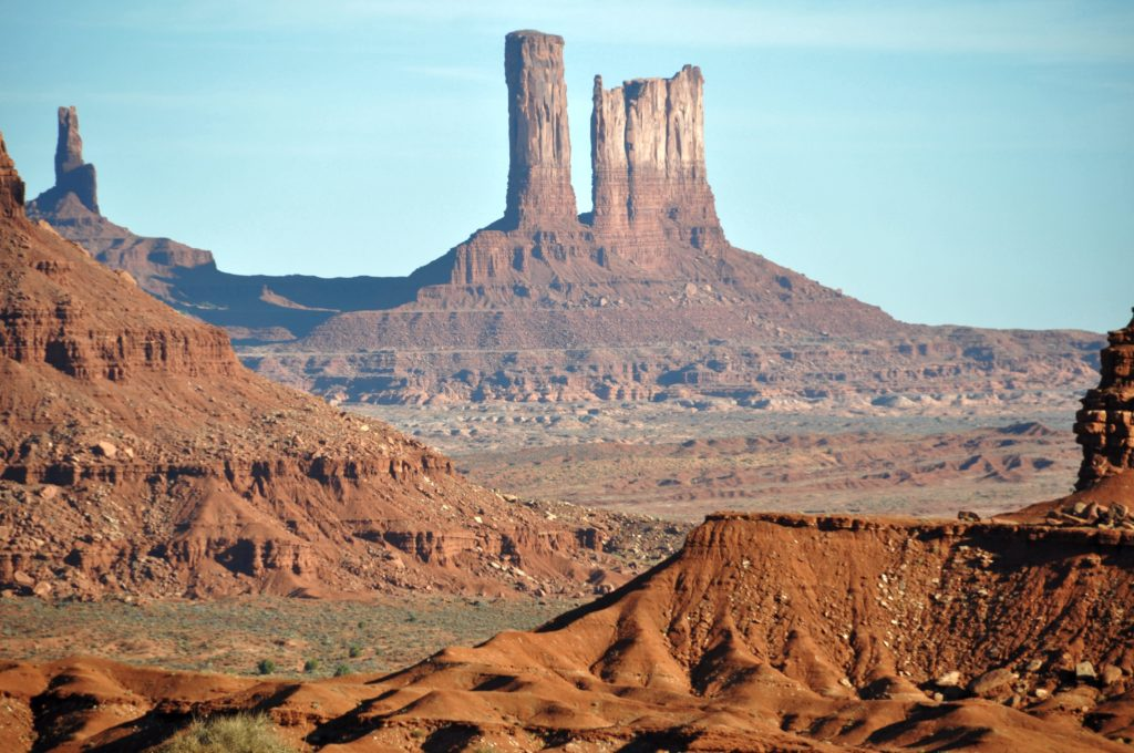 Monument Valley - Hiking the Wildcat trail