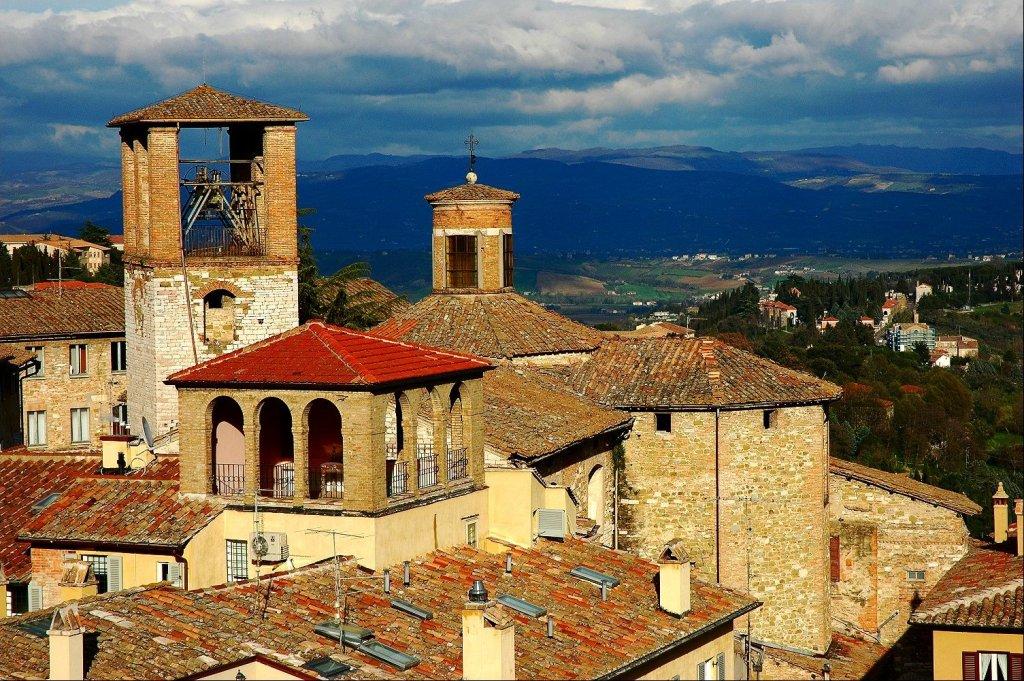 View on Perugia, Italy