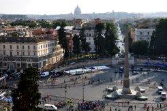 View on Piazza del Popolo