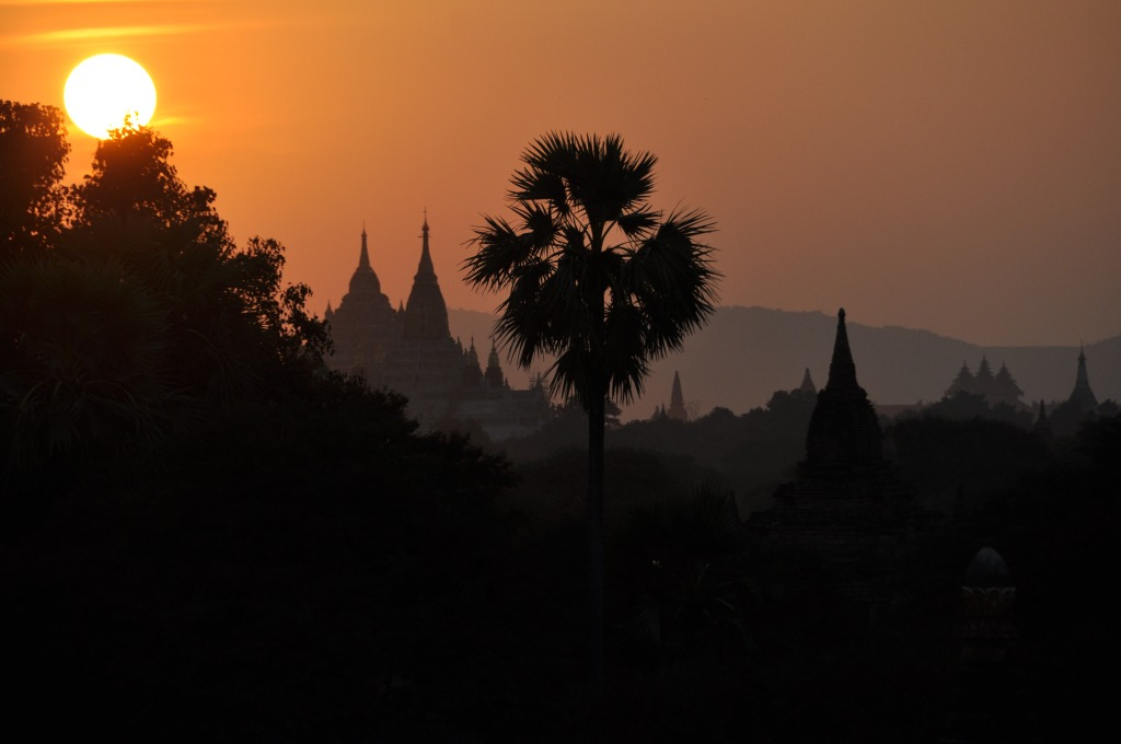 Bagan temples Myanmar